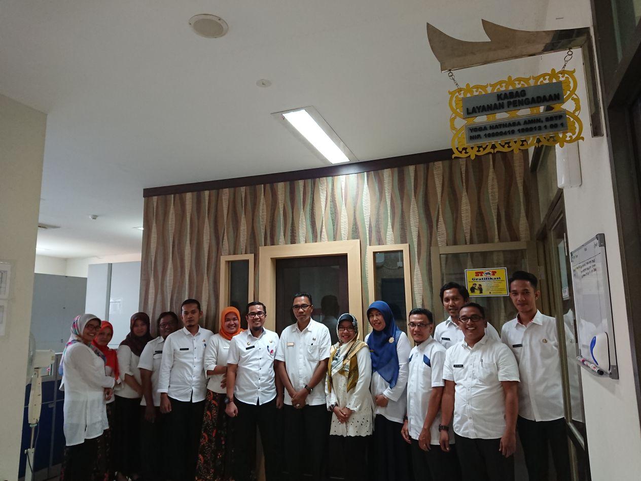 Studi Komparatif Pemerintah Kabupaten Agam ke BLP Kota Padang