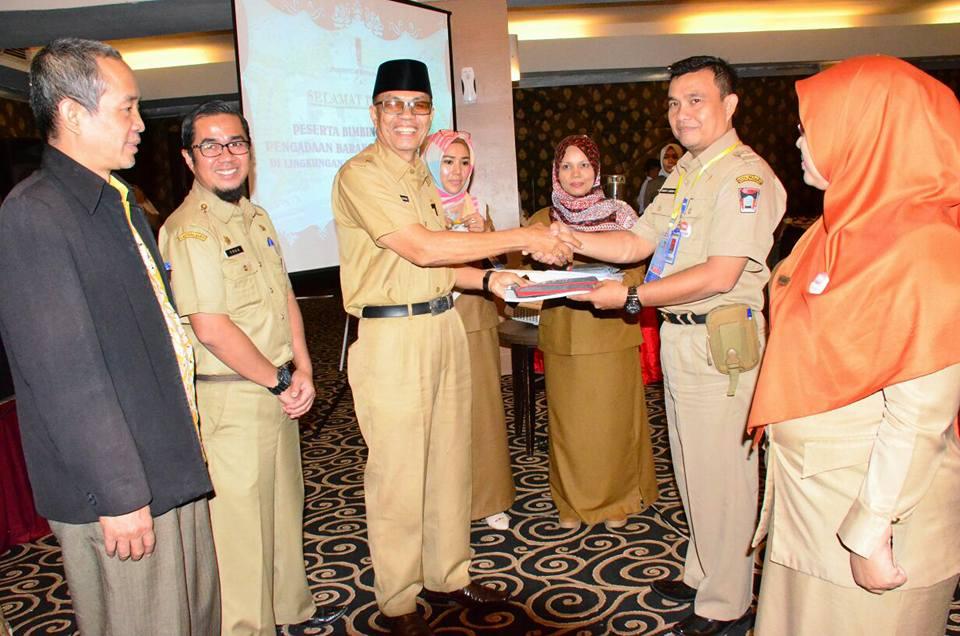 Bagian Layanan Pengadaan Melaksanakan Bimtek Pengadaan Barang/Jasa di Lingkungan Pemerintah Kota Padang Tahun 2018