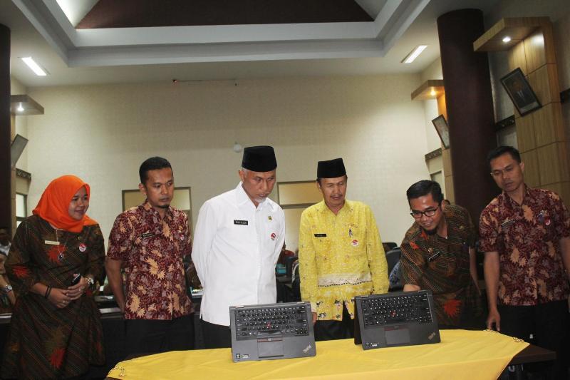 Launching Lelang Dini Pemerintah Kota Padang Tahun 2018